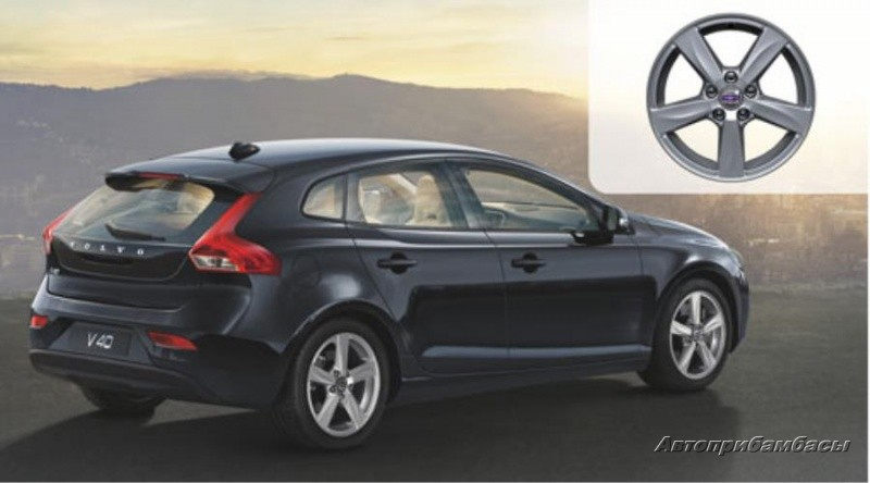 "Volvo V40 CROSS COUNTRY (2012-) ДИСК КОЛЕСНЫЙ R16 ""MATRES"""