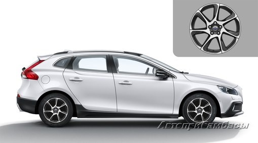 "Volvo V40 CROSS COUNTRY (2012-) ДИСК КОЛЕСНЫЙ R17 ""PORTUNUS"""