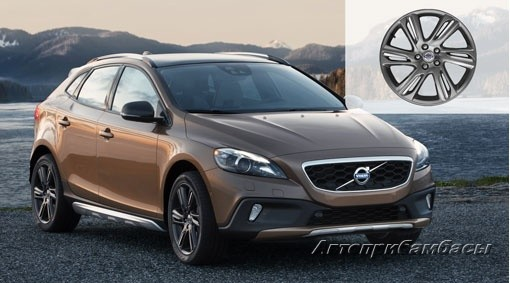 "Volvo V40 CROSS COUNTRY (2012-) ДИСК КОЛЕСНЫЙ R18 ""MEFITIS"" Tech black matt"