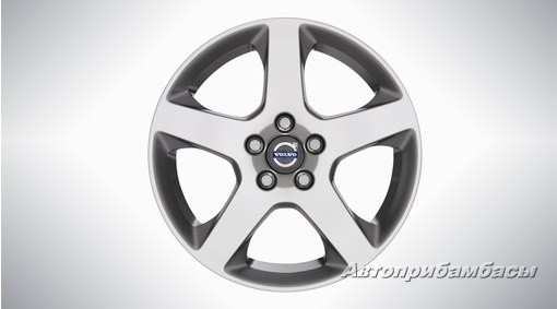 "Volvo V60  CROSS COUNTRY (2015-)  ДИСК КОЛЕСНЫЙ R17 ""Canicula"" Silver Bright"