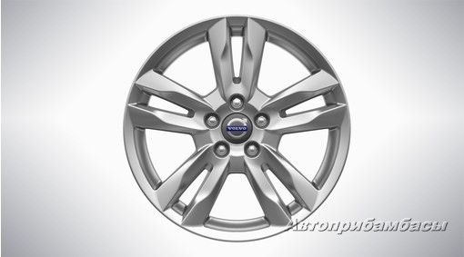 "Volvo V60  CROSS COUNTRY (2015-)  ДИСК КОЛЕСНЫЙ R17 ""Njord"" Silver Bright"