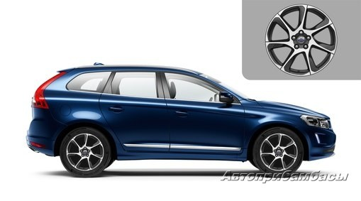 "Volvo XC60 2014-2017 ДИСК КОЛЕСНЫЙ R18 ""PORTUNUS"" Dark Grey"