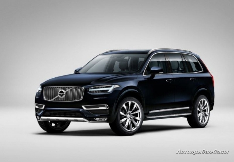Volvo XC90 2015- ДИСК КОЛЕСНЫЙ R21 Turbine Polished