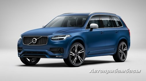 Volvo XC90 2015- ДИСК КОЛЕСНЫЙ R22 Matt Black Diamond Cut