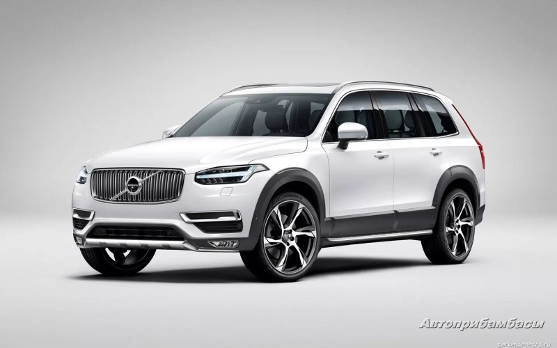 Volvo XC90 2015- ДИСК КОЛЕСНЫЙ R22 Tech Black matt