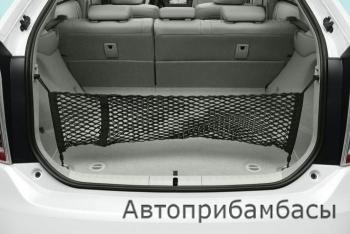 Prius 09 сетка в багажник вертикальная