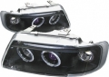 96-02 AUDI A3 BLACK HEAD LIGHT HALO
