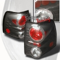 03-04 Ford Expedition Euro Tail Lights - Black