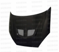 EVO-style carbon fiber hood for 2000-2004 Ford Focus