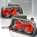 05-07 Ford Mustang Euro Tail Lights - Black