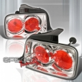 05-07 Ford Mustang Euro Tail Lights - Chrome