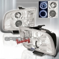 05-07 Ford Mustang Halo Projector Headlights