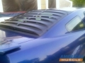 Mustang Textured ABS Rear Window Louvers - 2005-2010