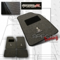 94-04 Ford Mustang Gray Cobra Style Floor Mats - 4 Piece