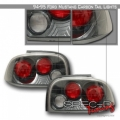 94-95 Ford Mustang Euro Tail Lights - Carbon