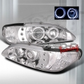94-98 Ford Mustang 1 Pc Halo Projector Headlights