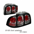 94-98 Ford Mustang Euro Tail Lights - Chrome
