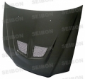 EVO-style carbon fiber hood for 1998-2002 Honda Accord 4dr