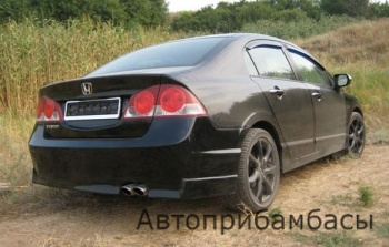 Honda Civic 4D Бампер задний