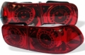 92 93 94 95 HONDA CIVIC ALL RED LED ALTEZZA TAIL LIGHTS