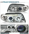 95-98 AUDI A4 HALO PROJECTOR HEAD LIGHTS HEADLIGHT