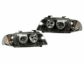 95-98 AUDI B5 A4 FK ANGEL EYE HEADLIGHTS +CORNER LIGHTS