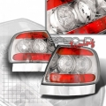 96-01 Audi A4 Euro Tail Lights - Chrome