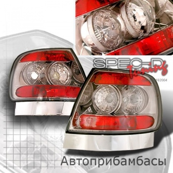 96-01 Audi A4 Euro Tail Lights - Smoke