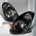 03-06 Infiniti G35 Sedan JDM Head Lights - Black