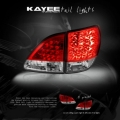 01 02 03 LEXUS RX300 RX-300 LED RED/CLEAR TAIL LIGHTS