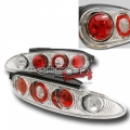 92-95 Mazda MX3 Euro Tail Lights - Chrome