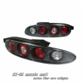 92-96 Mazda MX3 Euro Tail Lights - Carbon