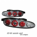 92-96 Mazda MX3 Euro Tail Lights - Chrome