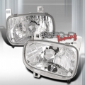 93-97 Mazda RX7 Euro Head Lights - Chrome