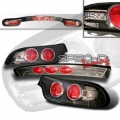93-97 Mazda RX7 Euro Tail Lights - Black