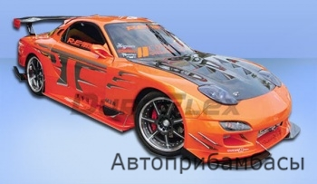 Пороги Mazda RX7 93-97 (2DR) GT300 widebody