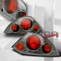 00-02 Mitsubishi Eclipse Euro Tail Lights - Carbon