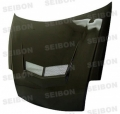 VSII-style carbon fiber hood for 2000-2005 Mitsubishi Eclipse