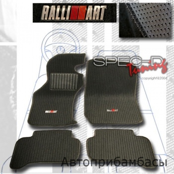 95-99 Mitsubishi Eclipse Ralliart Style Floor Mats - 4 Piece