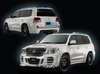 Аэрокит MidWest для Toyota Land Cruiser 200