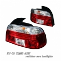 97-01 BMW E39 Euro Tail Lights - Dark Smoke