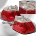 99-01 BMW E46 4DR Euro Tail Lights Outers Only - Red