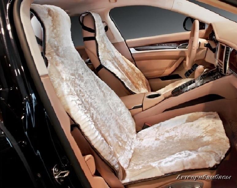 Меховое сиденье для автомобиля своими руками