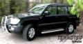 Toyota Land Cruiser 105 Пороги с листом 100мм Технотэк