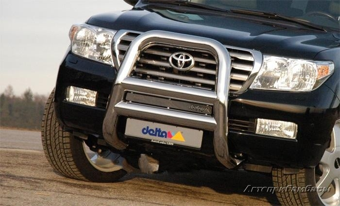 Toyota Land Cruiser 200 2007 Дуга высокая 101мм Delta