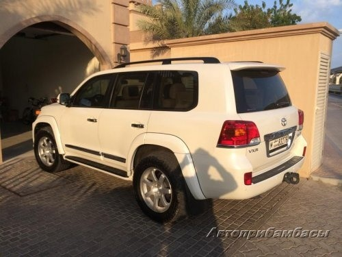 Toyota Land Cruiser 200 2012 Расширители арок 30мм