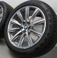 BMW 5 G30 2016- ДИСК КОЛЕСНЫЙ R18 V-spoke 684 (Ferricgrey)