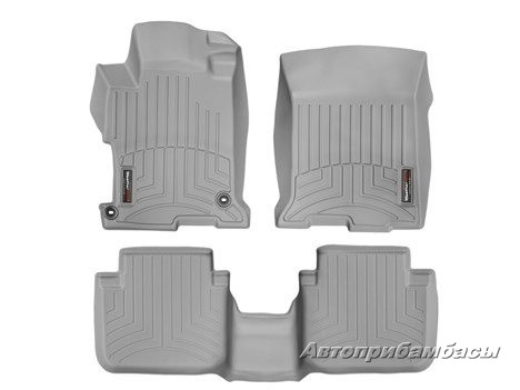 Honda Accord 2013-  Ковры WeatherTech Floorliner серые