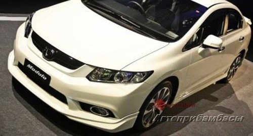 Honda Civic  4D 2012-  Обвес Modulo